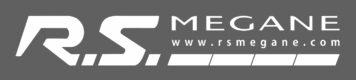 RSM Logo Sticker (WHITE)